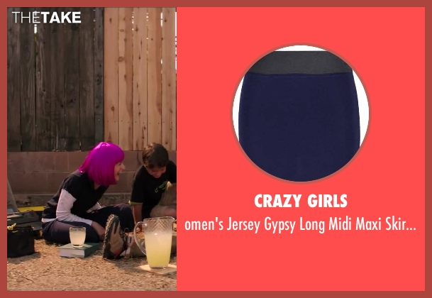 Crazy Girls blue waist from Wish I Was Here seen with Joey King (Grace Bloom)