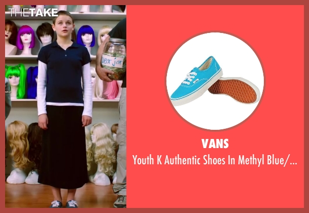 Vans blue white from Wish I Was Here seen with Joey King (Grace)