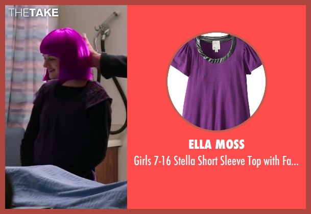 Ella Moss purple detail from Wish I Was Here seen with Joey King (Grace)
