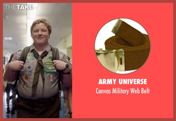 Army Universe brown belt from Scout's Guide to the Zombie Apocalypse seen with Joey Morgan (Augie)