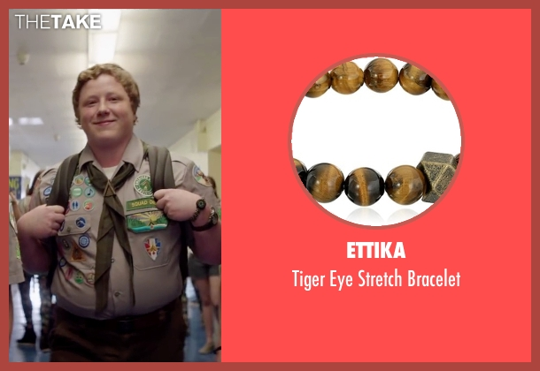 Ettika brown bracelet from Scout's Guide to the Zombie Apocalypse seen with Joey Morgan (Augie)