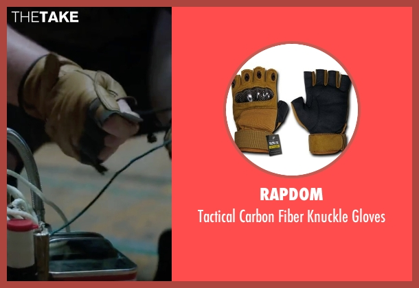 Rapdom gloves from Scout's Guide to the Zombie Apocalypse seen with Joey Morgan (Augie)