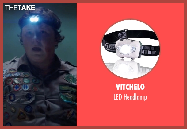 Vitchelo headlamp from Scout's Guide to the Zombie Apocalypse seen with Joey Morgan (Augie)