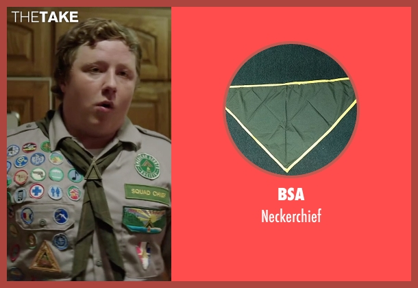 BSA neckerchief from Scout's Guide to the Zombie Apocalypse seen with Joey Morgan (Augie)