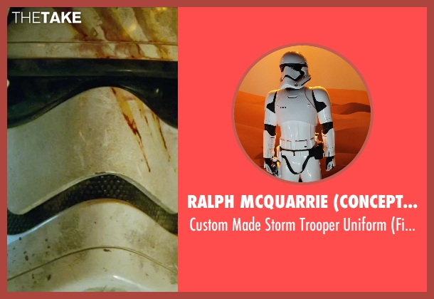 Ralph McQuarrie (Concept Artist) uniform from Star Wars: The Force Awakens seen with John Boyega (Finn)