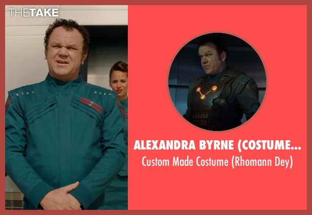 Alexandra Byrne (Costume Designer) costume from Guardians of the Galaxy seen with John C. Reilly (Rhomann Dey)