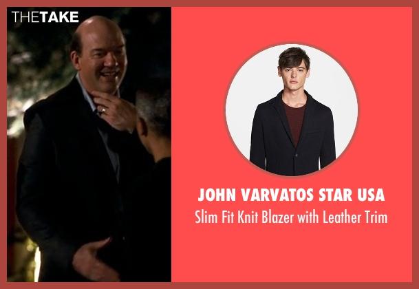 John Varvatos Star USA black trim from Crazy, Stupid, Love. seen with John Carroll Lynch (Bernie Riley)