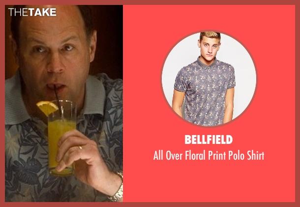 Bellfield blue shirt from Crazy, Stupid, Love. seen with John Carroll Lynch (Bernie Riley)