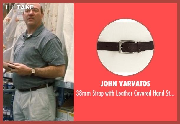 John Varvatos brown belt from Crazy, Stupid, Love. seen with John Carroll Lynch (Bernie Riley)