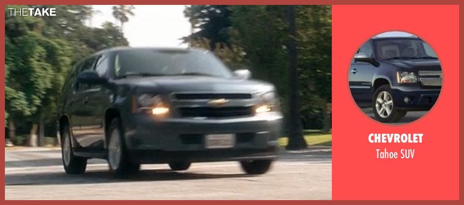 Chevrolet suv from Crazy, Stupid, Love. seen with John Carroll Lynch (Bernie Riley)