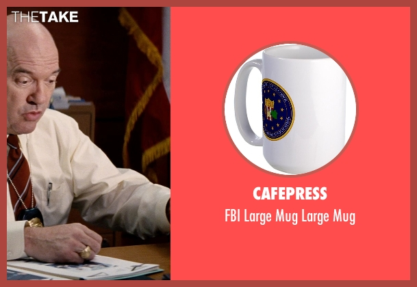 CafePress white mug from Hot Pursuit seen with John Carroll Lynch (Captain Emmett)