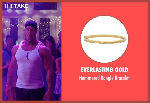 Michael Kors gold bracelet from Sisters seen with John Cena (Unknown Character)