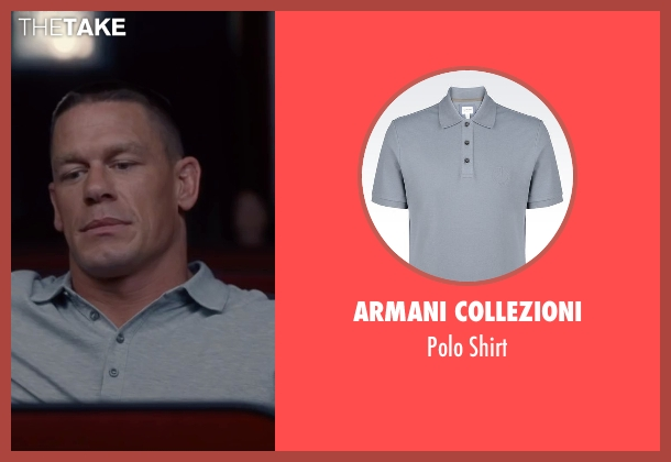 Armani Collezioni gray shirt from Trainwreck seen with John Cena (Steven)