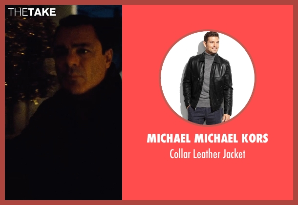 Michael Michael Kors black jacket from Run All Night seen with John Cenatiempo (Tommy)