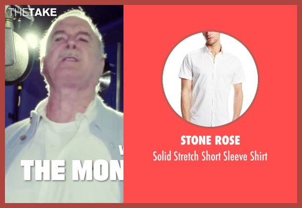 Stone Rose white shirt from Absolutely Anything seen with John Cleese (Extraterrestrial (voice))