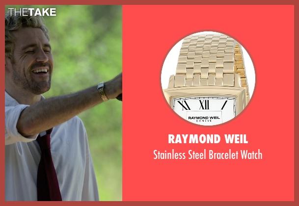 Raymond Weil gold watch from Arrow seen with John Constantine (Matt Ryan)