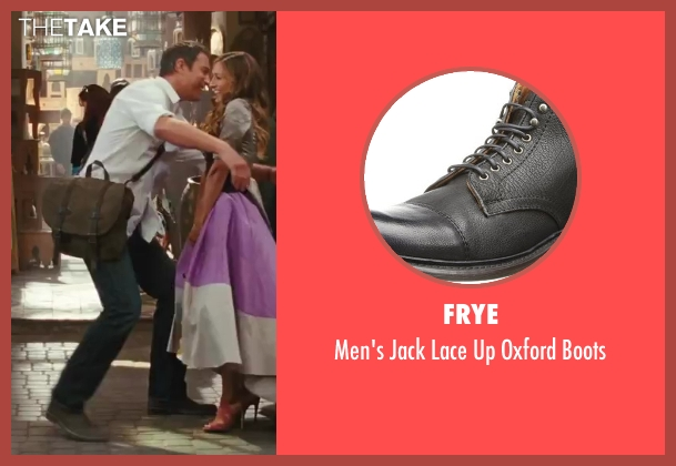 Frye black boots from Sex and the City 2 seen with John Corbett (Aidan)