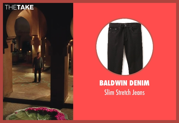 Baldwin Denim black jeans from Sex and the City 2 seen with John Corbett (Aidan)