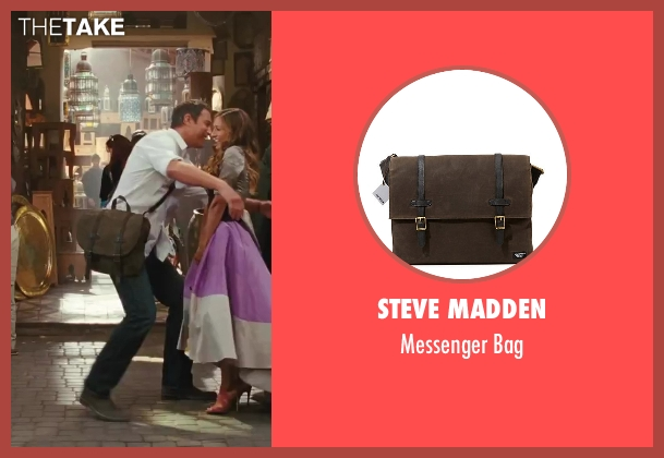 Steve Madden brown bag from Sex and the City 2 seen with John Corbett (Aidan)