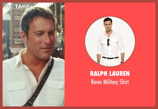 Ralph Lauren white shirt from Sex and the City 2 seen with John Corbett (Aidan)