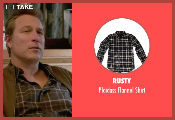 Rusty black shirt from The Boy Next Door seen with John Corbett (Unknown Character)
