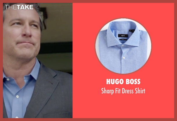 Hugo Boss blue shirt from The Boy Next Door seen with John Corbett (Unknown Character)