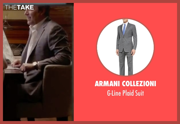Armani Collezioni gray suit from The Boy Next Door seen with John Corbett (Unknown Character)