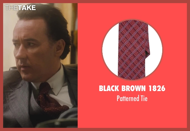 Black Brown 1826 red tie from Lee Daniels' The Butler seen with No Actor (Richard Nixon)