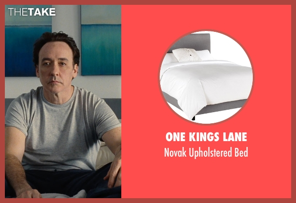 One Kings Lane bed from Love & Mercy seen with John Cusack (Brian Wilson - older)