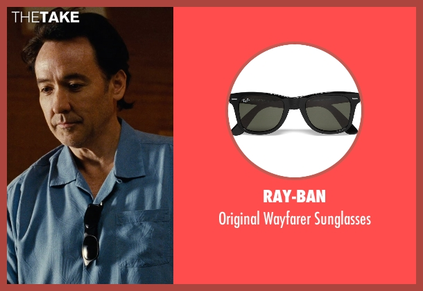 Ray-Ban black sunglasses from Love & Mercy seen with John Cusack (Brian Wilson - older)