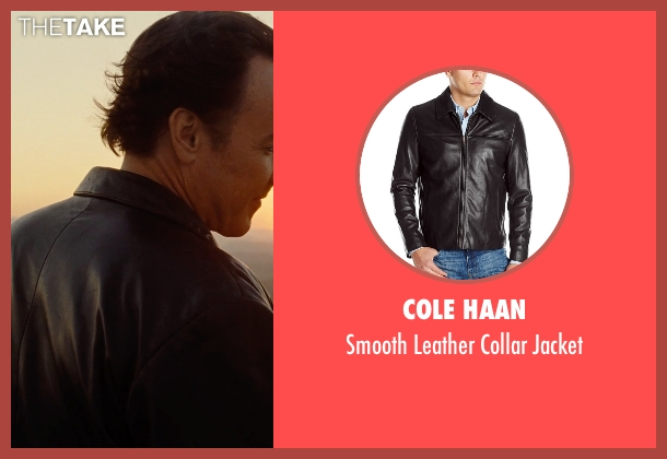 Cole Haan brown jacket from Love & Mercy seen with John Cusack (Brian Wilson - older)