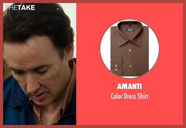 Amanti brown shirt from Love & Mercy seen with John Cusack (Brian Wilson - older)
