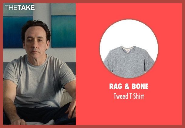 Rag & Bone gray t-shirt from Love & Mercy seen with John Cusack (Brian Wilson - older)