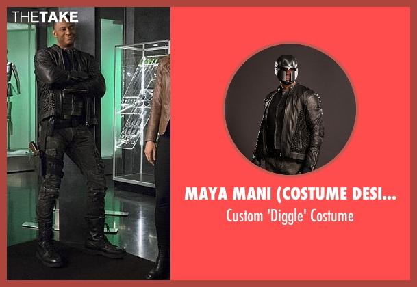 Maya Mani (Costume Designer) costume from The Flash seen with John Diggle (David Ramsey)