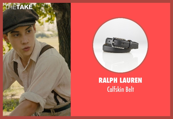 Ralph Lauren black belt from Unbroken seen with John D'Leo (Young Pete)