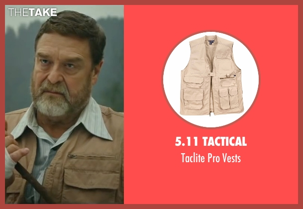 5.11 Tactical beige vests from Kong: Skull Island seen with John Goodman (Randa)