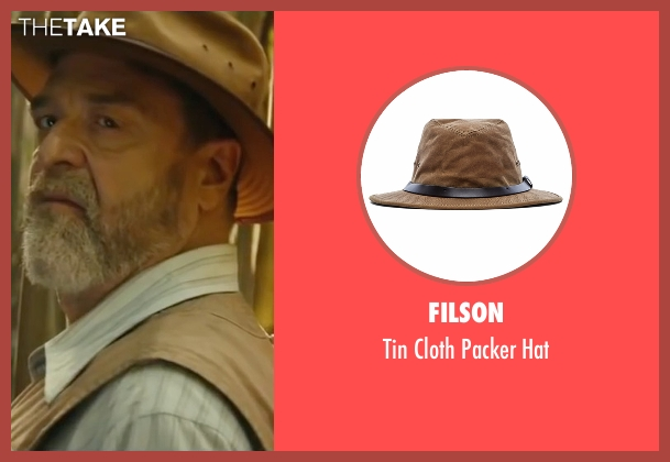 Filson brown hat from Kong: Skull Island seen with John Goodman (Randa)
