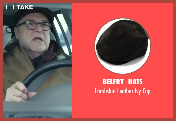 Belfry  Hats black cap from Love the Coopers seen with John Goodman (Sam)
