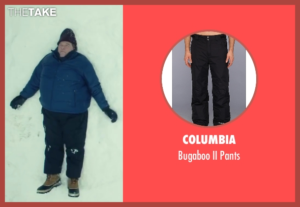 Columbia black pants from Love the Coopers seen with John Goodman (Sam)