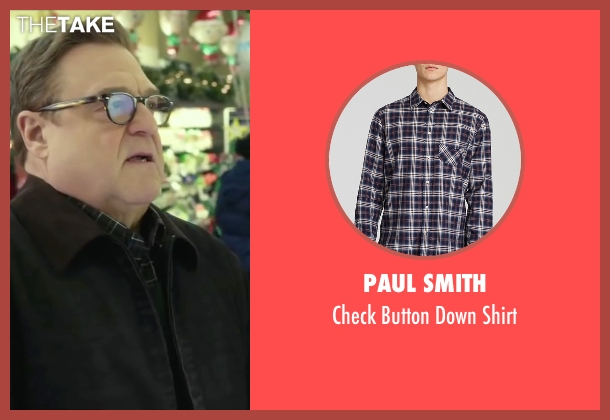 Paul Smith blue shirt from Love the Coopers seen with John Goodman (Sam)
