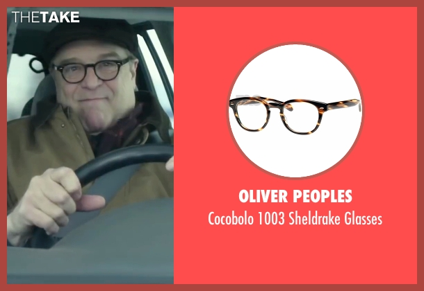 Oliver Peoples brown glasses from Love the Coopers seen with John Goodman (Sam)