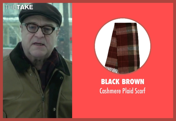Black Brown red scarf from Love the Coopers seen with John Goodman (Sam)