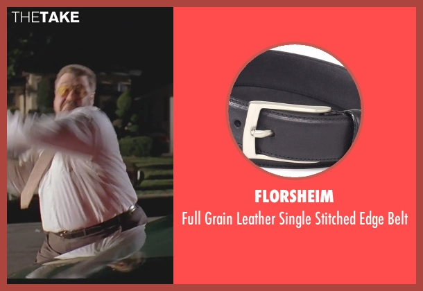 Florsheim black belt from The Big Lebowski seen with John Goodman (Walter Sobchak)