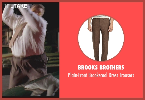 Brooks Brothers brown trousers from The Big Lebowski seen with John Goodman (Walter Sobchak)