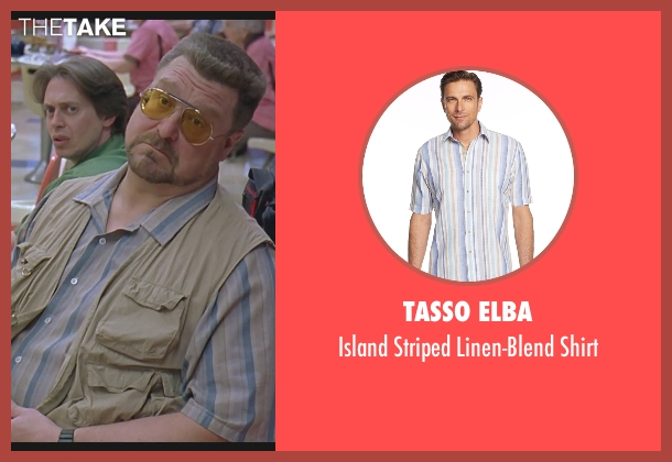Tasso Elba shirt from The Big Lebowski seen with John Goodman (Walter Sobchak)