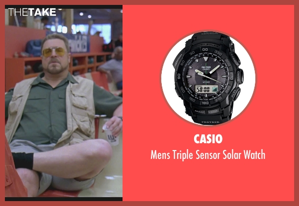 Casio watch from The Big Lebowski seen with John Goodman (Walter Sobchak)