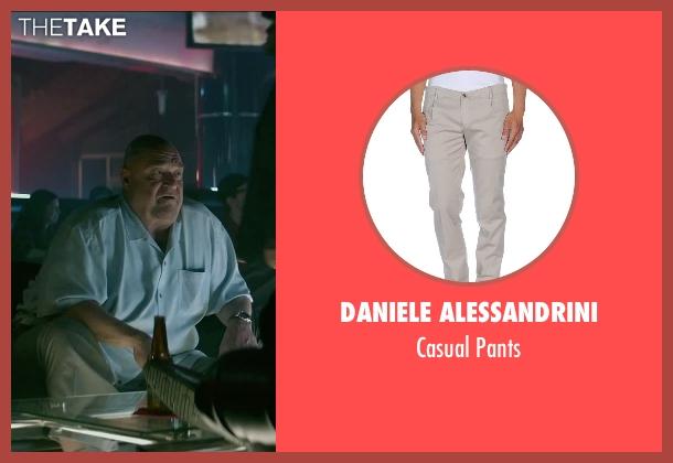 Daniele Alessandrini beige pants from The Gambler seen with John Goodman (Frank)