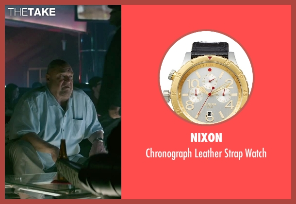 Nixon gold watch from The Gambler seen with John Goodman (Frank)