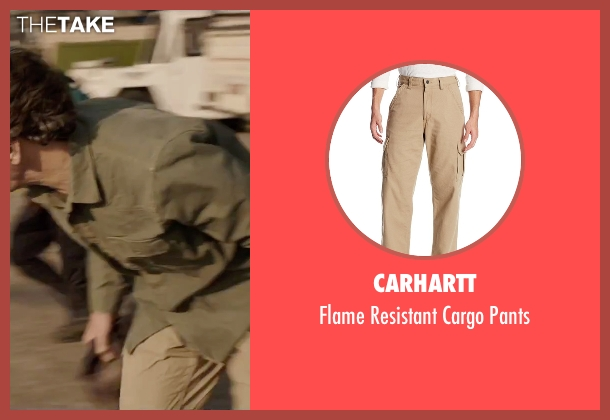 Carhartt beige pants from Everest seen with John Hawkes (Doug Hansen)