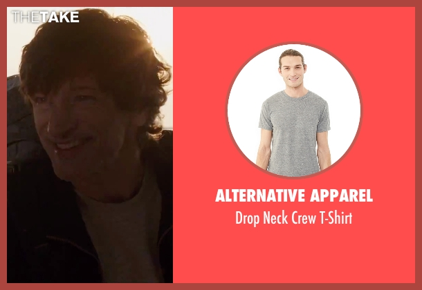 Alternative Apparel gray t-shirt from Everest seen with John Hawkes (Doug Hansen)
